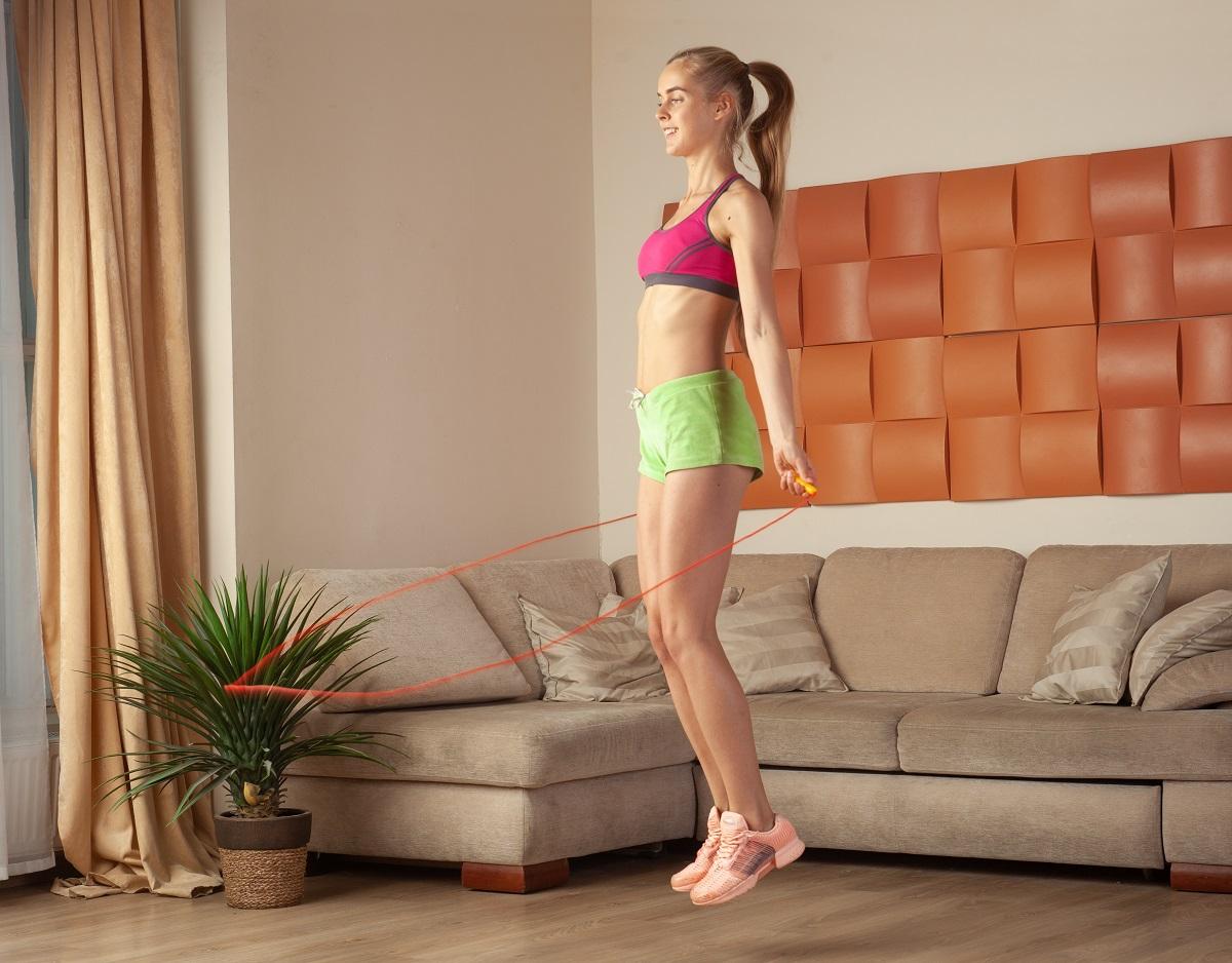 garota melhorando seu desempenho físico