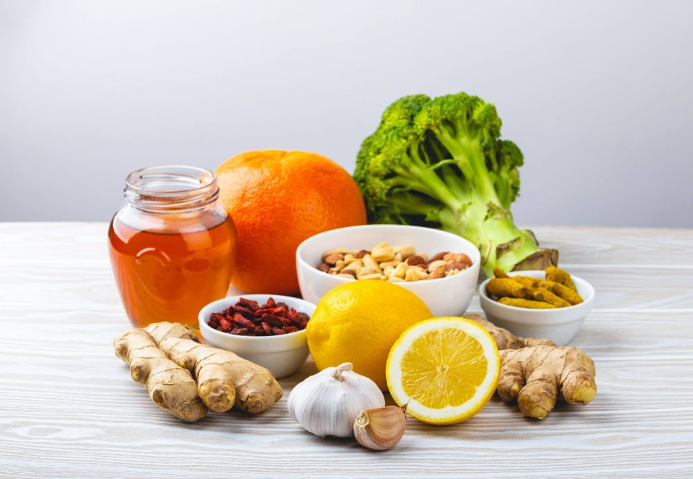 alimento para aumentar a imunidade