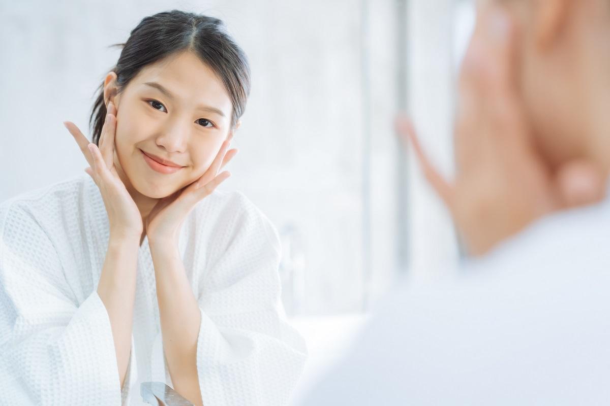 mulher que faz tratamento com picnogenol